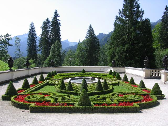 Linderhof Castle French Garden